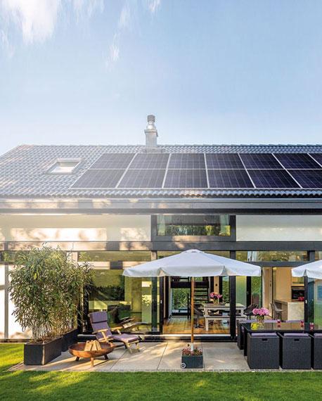 installation en autoconsommation électrique en toiture EVF