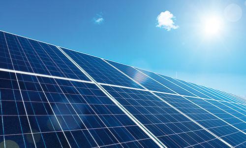 Une ressource d'énergie innestimable, le soleil.